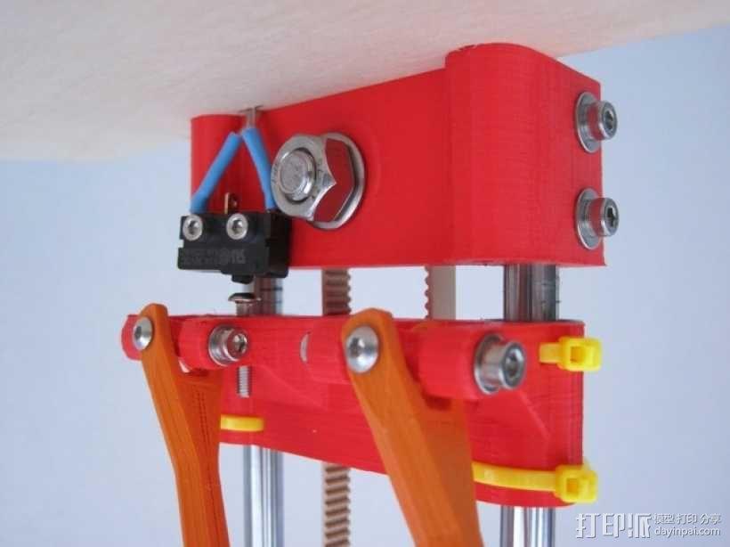 惰轮支架 3D模型  图3