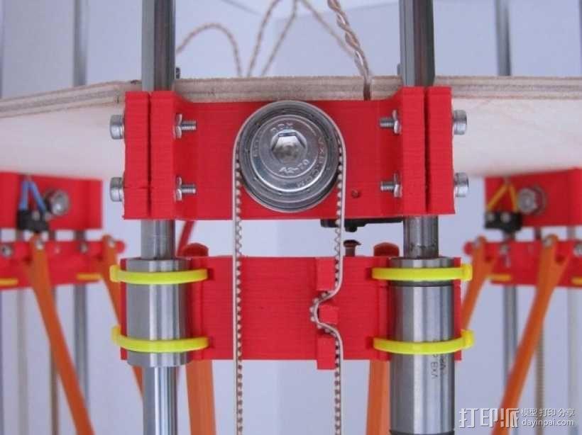 惰轮支架 3D模型  图4