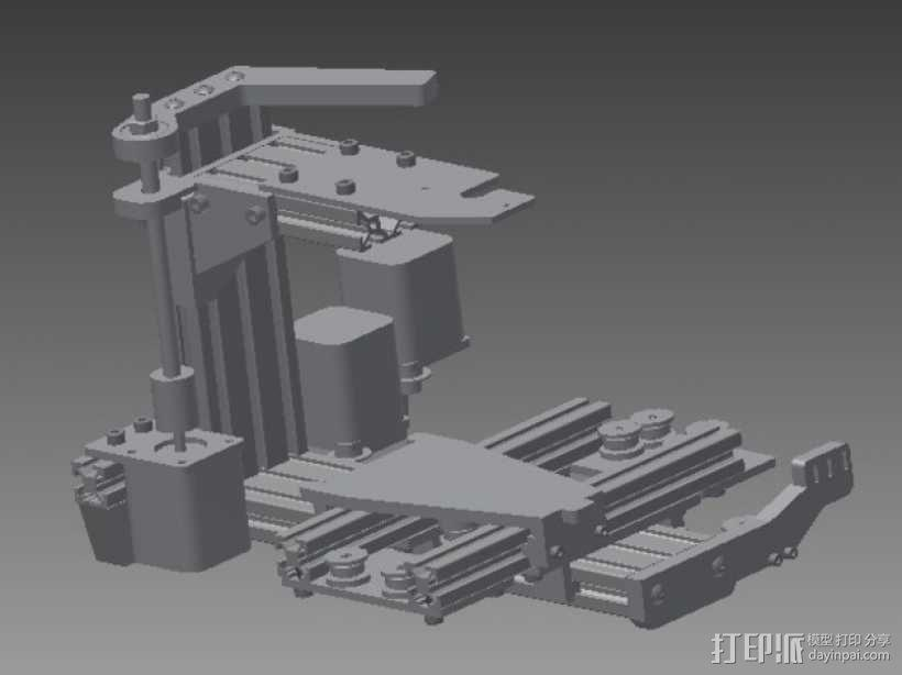 Pocket 打印机 3D模型  图7