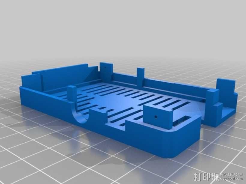 树莓派电路板保护外壳 3D模型  图21