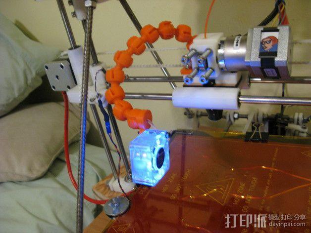 风扇支架 3D模型  图11