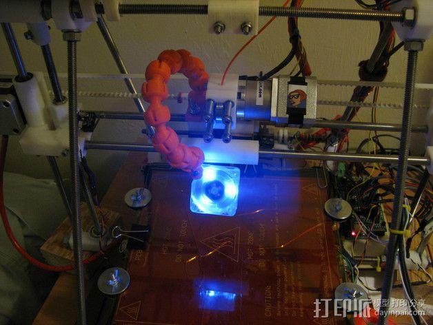 风扇支架 3D模型  图14