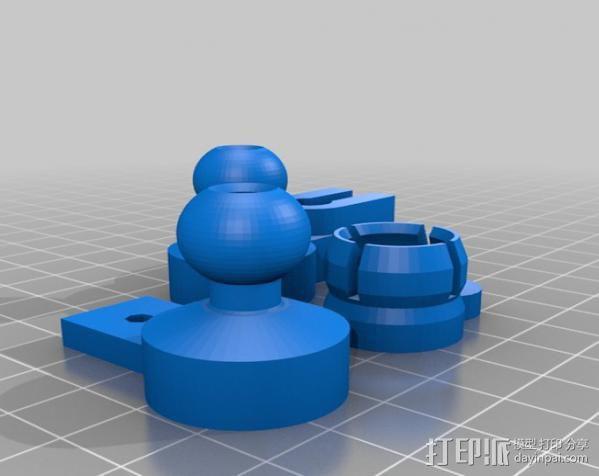 风扇支架 3D模型  图21