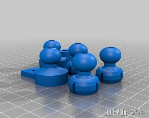 风扇支架 3D模型  图23