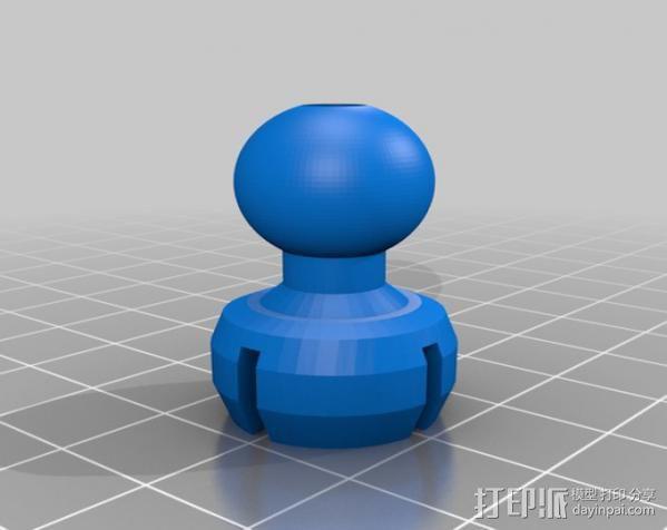 风扇支架 3D模型  图22