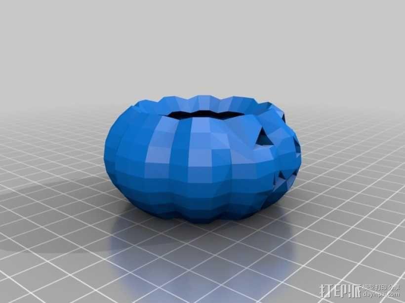 南瓜灯 3D模型  图1