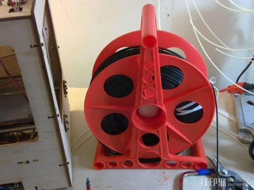 线轴轴栓 3D模型  图6
