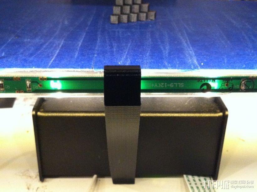 打印机喷头LED灯支架 3D模型  图2