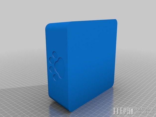 猫粮碗  3D模型  图2