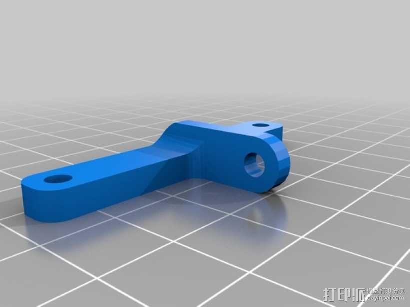风扇通风导管支架 3D模型  图4