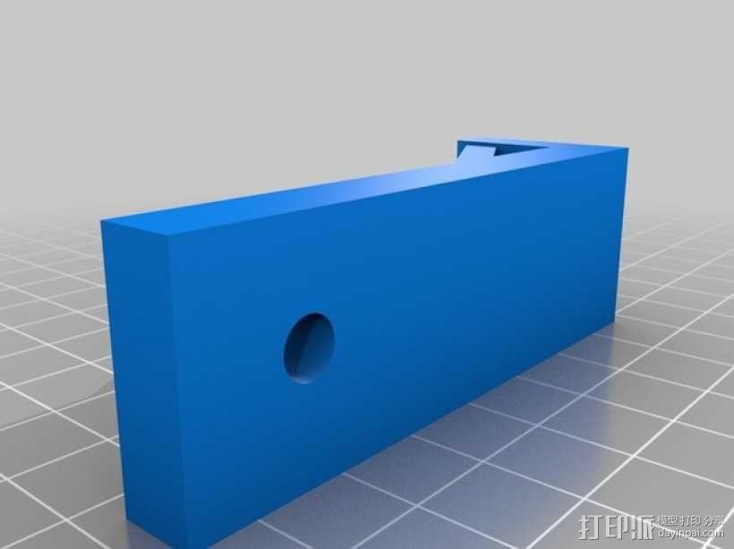 L形框架 3D模型  图1