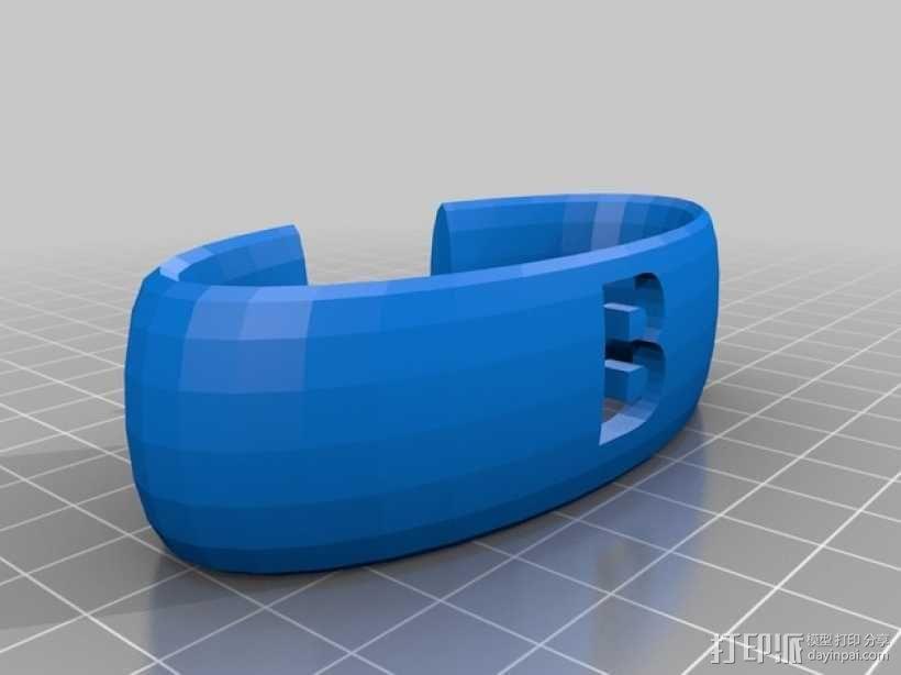 窗帘系带 3D模型  图1