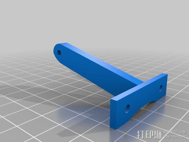 风扇的支架 3D模型  图3