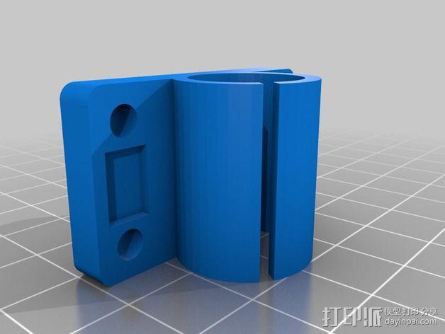 线性轴承套管 3D模型  图2