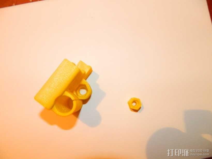 Z轴螺丝钉适配器 3D模型  图1