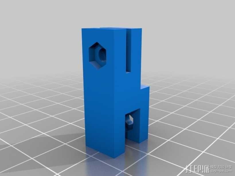 智能控制器支架 3D模型  图2