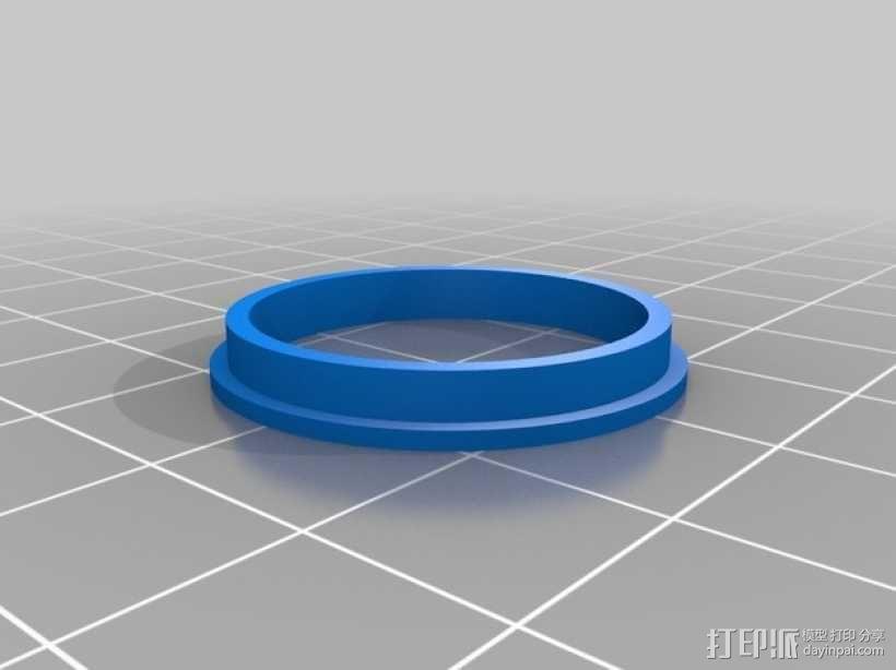 轴承导向环 3D模型  图1
