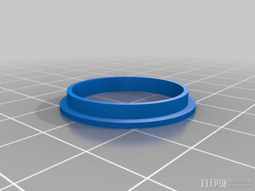 轴承导向环 3D模型  图2