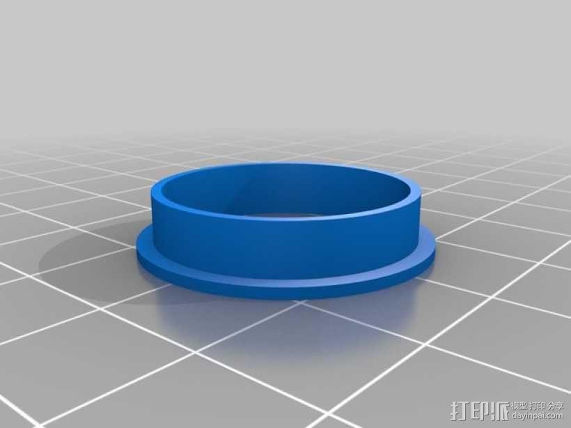 轴承导向环 3D模型  图3
