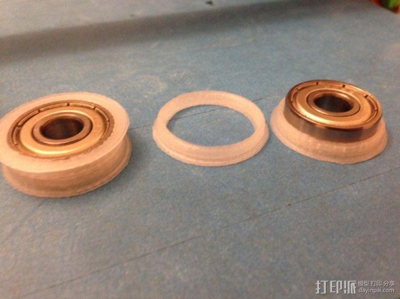 轴承导向环 3D模型  图4