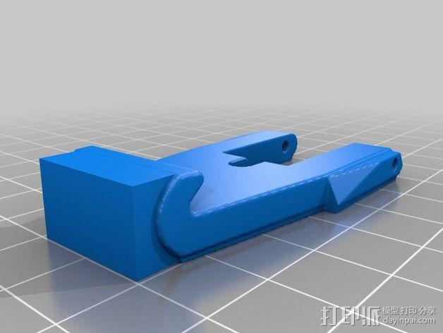 弹簧钩/锁扣 3D模型  图1