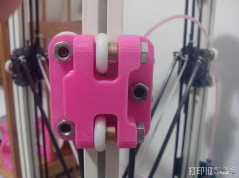 轴杆稳定器 3D模型  图1