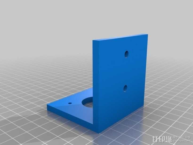 Nema 17步进电机支架 3D模型  图1