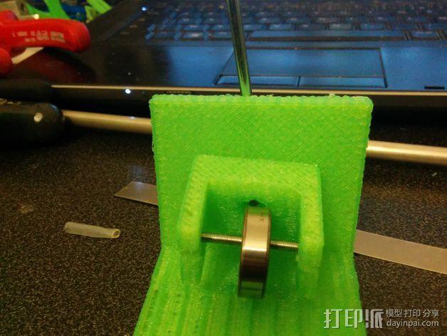Nema 17步进电机支架 3D模型  图3