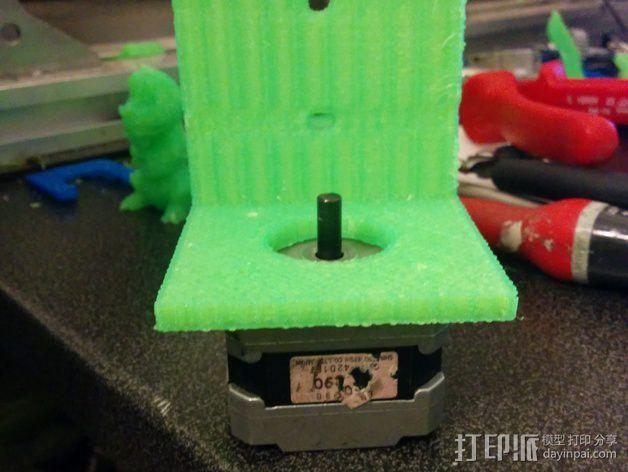 Nema 17步进电机支架 3D模型  图5