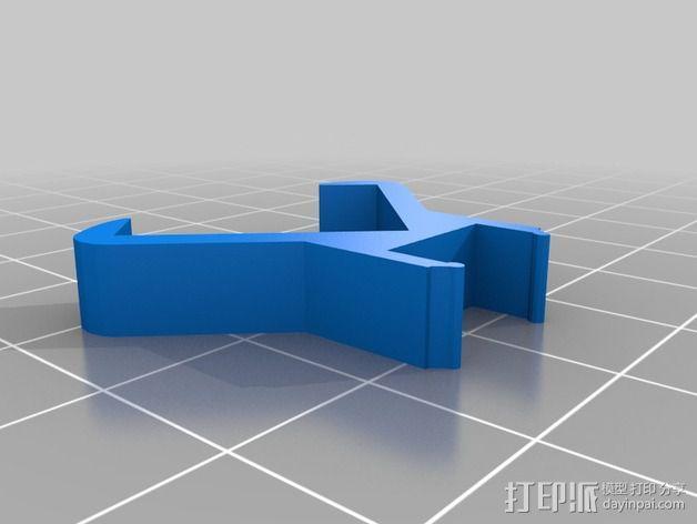 宜家灯夹 3D模型  图1