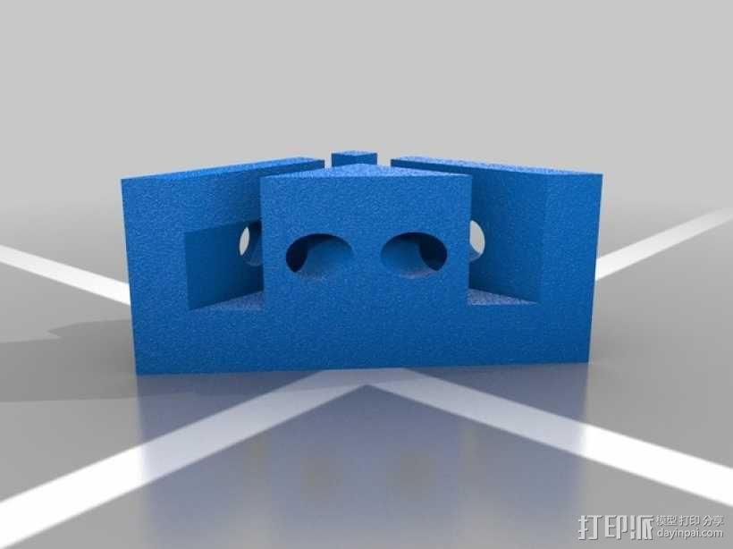 Makerbot 2X打印机底垫 3D模型  图2