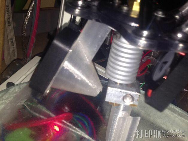 喷头散热导管 3D模型  图1