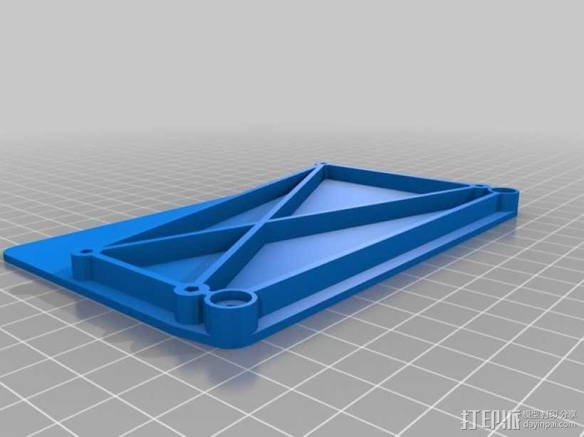 电路板支架 3D模型  图2