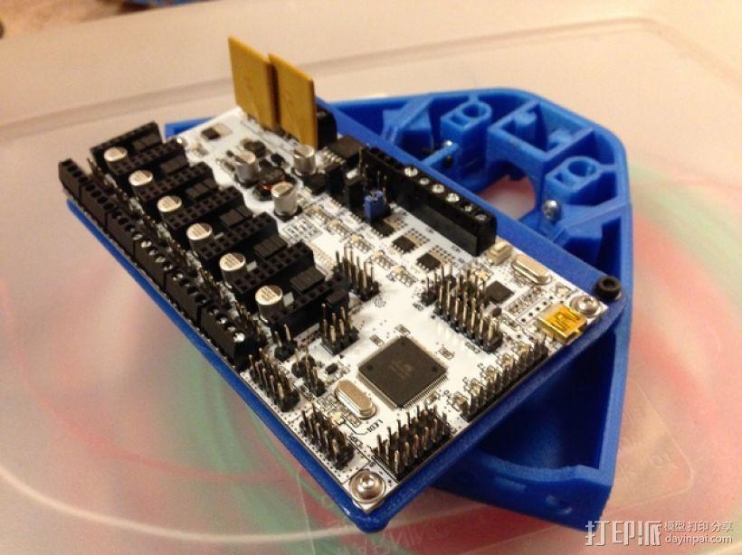 电路板支架 3D模型  图3