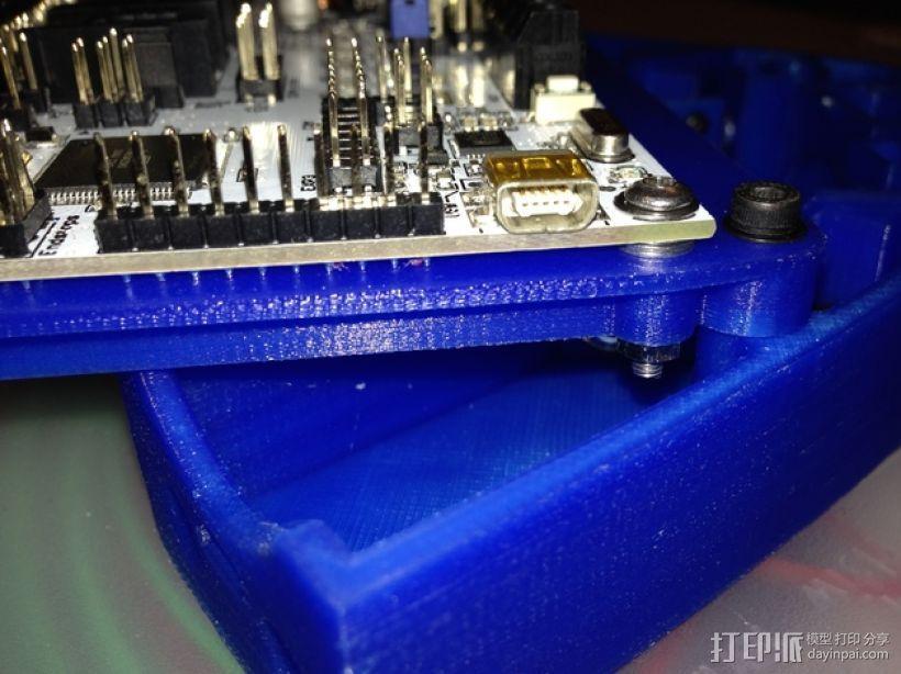 电路板支架 3D模型  图5