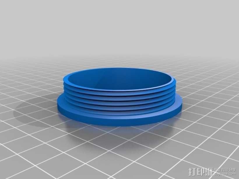 加大版的卷纸筒 3D模型  图1