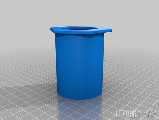 加大版的卷纸筒 3D模型  图2