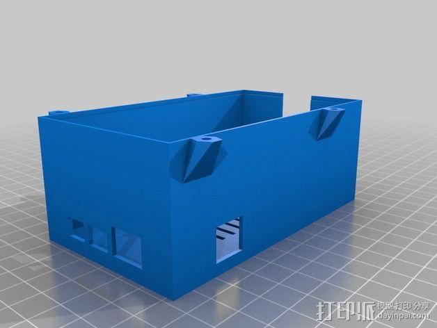 电路板保护罩 风扇 3D模型  图2