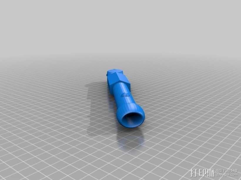 光剑手柄 3D模型  图1