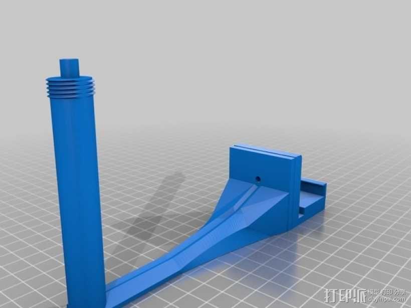 相机支架 3D模型  图1