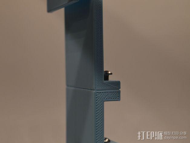 电源电缆固定器 3D模型  图7