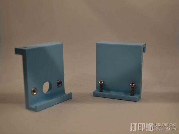 电源电缆固定器 3D模型  图10