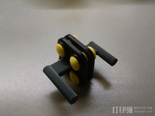 MakerGear M2打印机上的摄像头支架 3D模型  图1