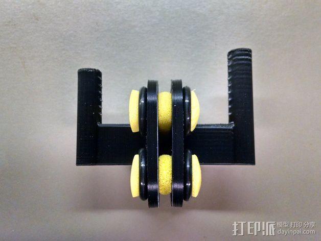 MakerGear M2打印机上的摄像头支架 3D模型  图4