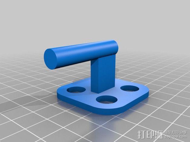MakerGear M2打印机上的摄像头支架 3D模型  图3