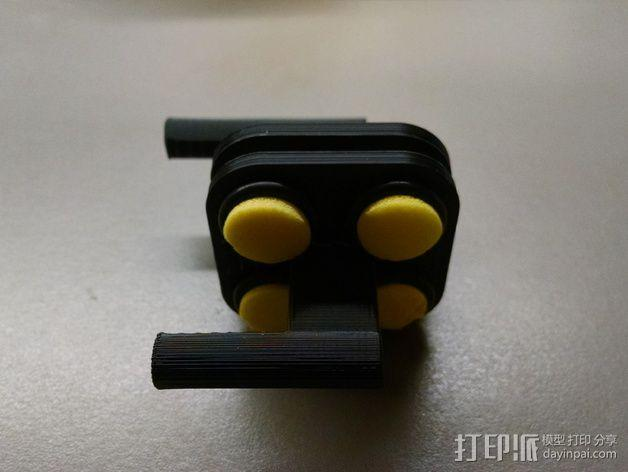 MakerGear M2打印机上的摄像头支架 3D模型  图6