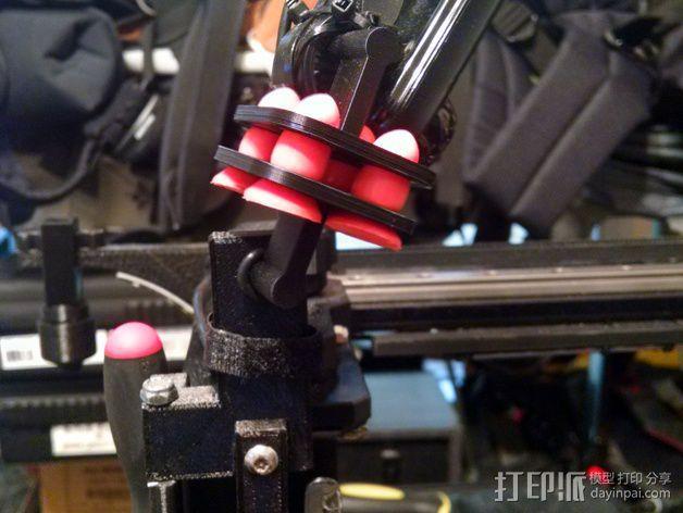 MakerGear M2打印机上的摄像头支架 3D模型  图8
