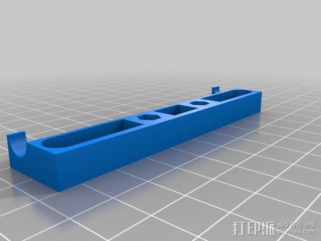 USB灯框条 支架 3D模型  图2