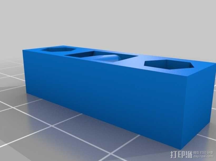 Y轴皮带张紧器 3D模型  图1