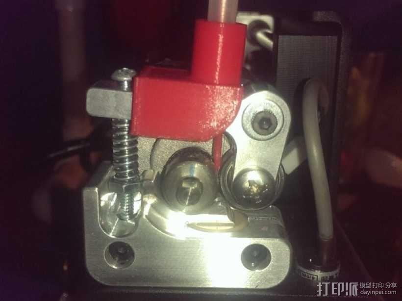 Printrbot Simple  Metal 打印机的送料系统 3D模型  图2